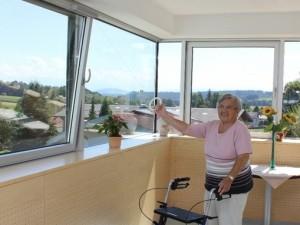 Barrierefreies Lüften von Oberlichtfenster und Dachfenster