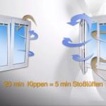 Mit Winflip Fensterschließer nie mehr kalte Räume